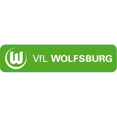 Sticker Schriftzug VfL Wolfsburg