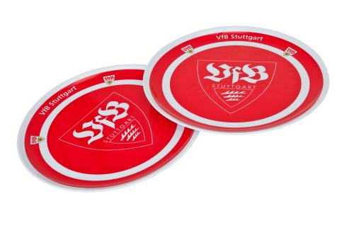 Teller 2er Set VfB Stuttgart
