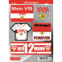 Aufkleber Set VfB Stuttgart