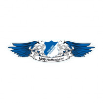Autoaufkleber Wings TSG 1899 Hoffenheim